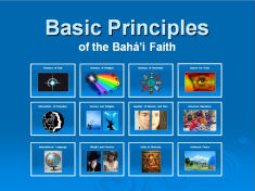 Basic Principles of the Bahá'í Faith
