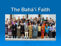 The Bahá'í Faith: An Introduction